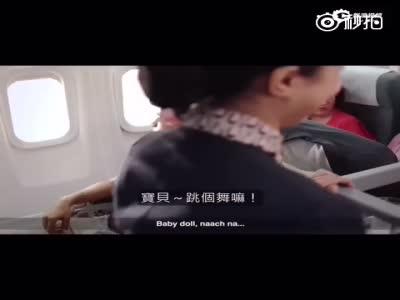 爆笑印度飞机恶搞短片 机长神吐槽不文明行为