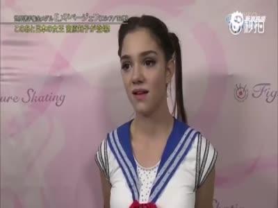 俄罗斯16岁花滑公主冰上演绎《美少女战士》