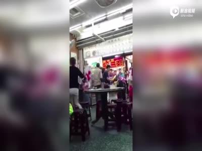 陆客在台用餐遭老板呵斥:强国人有什么了不起