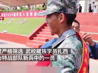 """河南28名""""少林小子""""加入特战部队"""