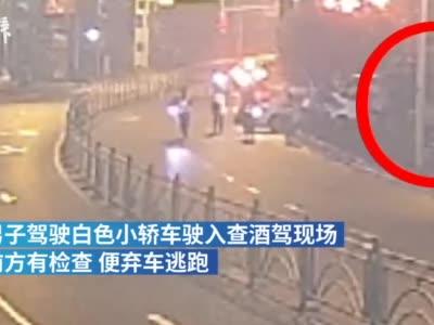 宜昌一男子遇查酒驾弃车逃跑,未达到酒驾标准