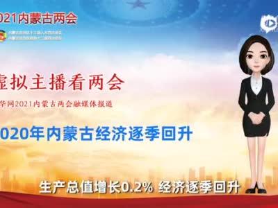 虚拟主播看两会丨2020年内蒙古经济逐季回升