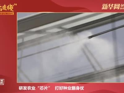 """马忠明:研发农业""""芯片"""" 打好种业翻身仗"""