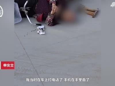 女子扶摔倒奶奶怕被讹 提前拍视频作证 奶奶一句话令人心酸