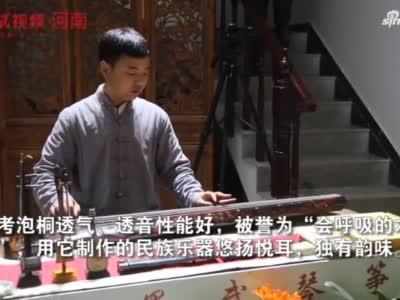 """兰考徐场村:焦书记种下的泡桐 如今成村民的""""银行"""""""