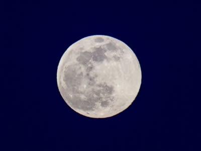 世界各地升起超级月亮