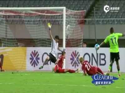 武磊第89分钟失绝杀 上港主场0-0全北
