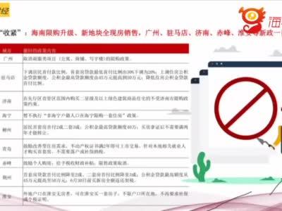 海南限购升级 丁祖昱:不清新为什么要这么干