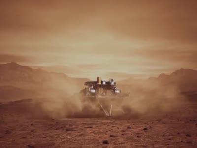 激动!期待已久的完整版天问一号着陆火星动画视频来了