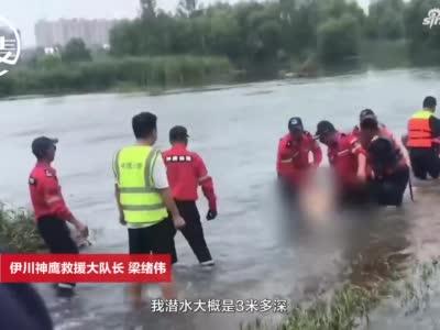 洛阳一救援队长6年目睹百余个家庭因溺水失去亲人